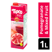 Tipco 100% Fruit Juice - Pomegranate & Mixed Fruit