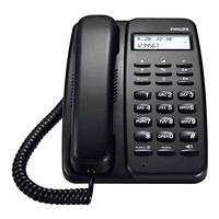 Philips Corded Phone - Black
