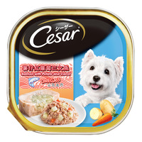Cesar Dog Wet Food - Salmon with Potato And Carrot