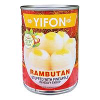 Yifon Can Fruit - Rambutan Stuffed with Pineapple