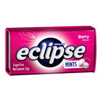 Wrigley's Eclipse Sugar Free Mints Candy - Berry
