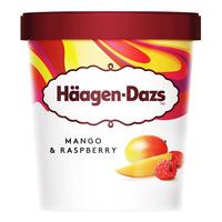 Haagen-Dazs Ice Cream - Mango & Raspberry