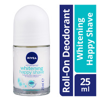 Nivea Anti-Perspirant Roll-On Deodorant - Whitening Happy Shave