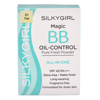 Silkygirl Magic BB Oil-Control Pure Fresh Powder - 01 Fair