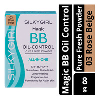 Silkygirl Magic BB Oil Control Pure Fresh Powder - 03 Rose Beige