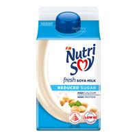 F&N NutriSoy High Calcium Fresh Soya Milk - Reduced Sugar