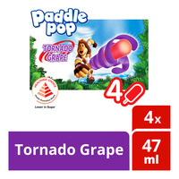 Wall's Paddle Pop Ice Cream - Tornado Grape