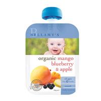 Bellamy's Organic Ready to Eat Baby Food - Mango Blueberry & Apple