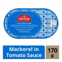 King Oscar Mackerel in Tomato Sauce