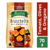 Maretti Bruschette Chips - Tomato, Olives & Oregano