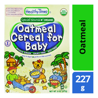 Healthy Times Organic Baby Cereal - Oatmeal
