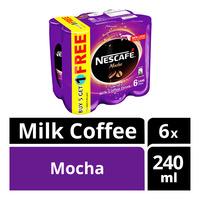 Nescafe Milk Coffee Can Drink - Mocha