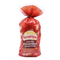 Sunshine Extra Fine Wholemeal Buns - Burger