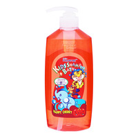 Follow Me Kids Shampoo & Bath Wash - Happy Cherry