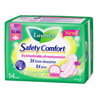 Laurier Safety Comfort Day Pads - Ultra Slim Heavy (25cm)