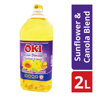 Oki Premium Sunflower & Canola Blended Oil