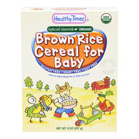 Healthy Times Organic Baby Cereal - Brown Rice