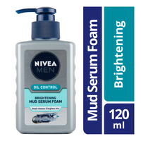 Nivea Men Oil Control Mud Serum Foam - Brightening