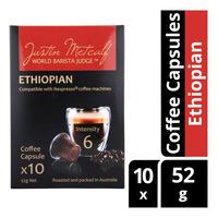 Justin Metcalf Coffee Capsules - Ethiopian
