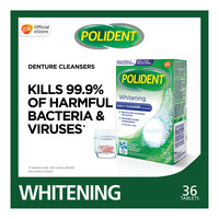 Polident Denture Cleanser Tablet - Whitening