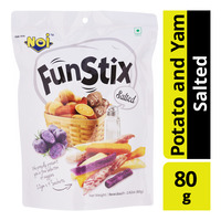 N.O.I Fun Stix Mixed Potato and Yam Stick - Salted