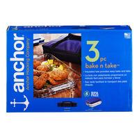 Anchor Hocking 3-Piece Bakeware Set