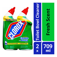 Clorox Toilet Bowl Cleaner with Bleach - Fresh Scent