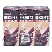 Soyfresh Hershey's Soya Packet Milk - Chocolate