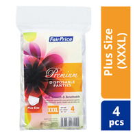FairPrice Premium Disposable Panties - Plus Size (XXXL)