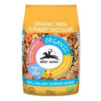 Alce Nero Organic Durum Wheat Pasta - Vegetable Alphabet
