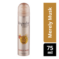 Impulse Perfume in a Spray - Merely Musk