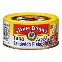 Ayam Brand Tuna Sandwich Flakes - Oil (Light)