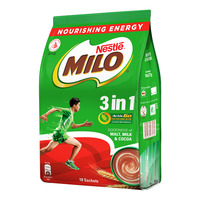Milo 3 in 1 Instant Chocolate Malt Drink - Activ-Go 18 x 27G