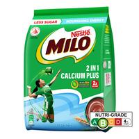 Milo 2 in 1 Instant Chocolate Malt Drink - Calcium Enriched