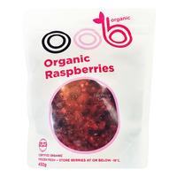 OOB Organic Frozen Berries - Raspberries