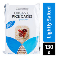 Clearspring Organic Rice Cakes - Lightly Salted