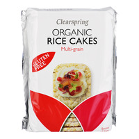 Clearspring Organic Rice Cakes - Multi Grain