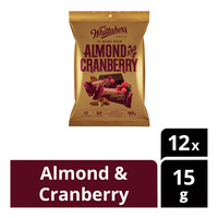 Whittaker's Mini Dark Chocolate Bar - Almond & Cranberry