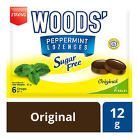 Woods' Peppermint Sugar Free Lozenges - Original