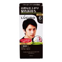 Lucido Colour Hair Dye - 6 (Dark Brown)