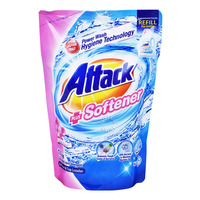 Attack Liquid Detergent Refill - Plus Softener