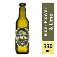 Kopparberg Swedish Bottle Cider - Elder Flower & Lime