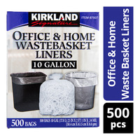 Kirkland Signature Office & Home Waste Basket Liners
