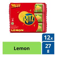 Ritz Sandwich Cracker - Lemon