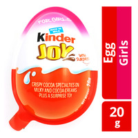 Kinder Joy Chocolate Egg - Girls