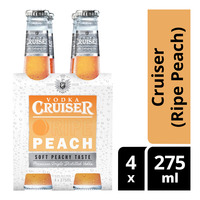 Vodka Bottle Drink - Cruiser (Ripe Peach)