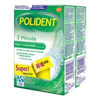 Polident Denture Cleanser Tablets - 3 Minute