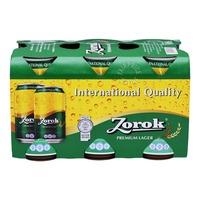 Zorok Premium Lager Can Beer