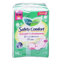 Laurier Safety Comfort Day Pads -UltraSlim Heavy(25cm)