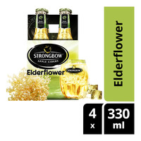 Strongbow Apple Bottle Cider - Elderflower